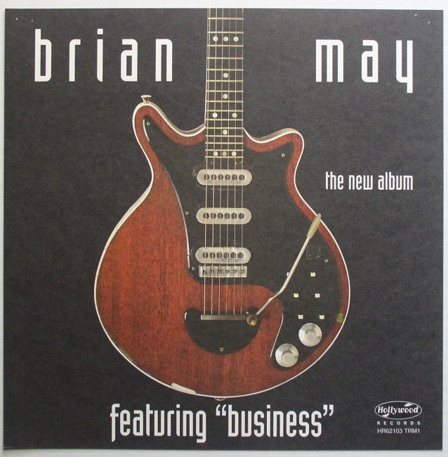 Brain May / Another World flat back