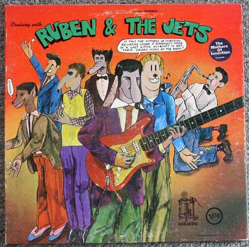 Mothers Of Invention / Ruben & The Jets LP 1