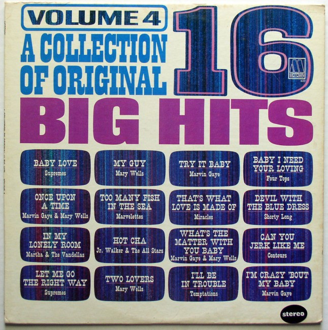 Various / A Collection Of 16 Original Big Hits Vol 4 1