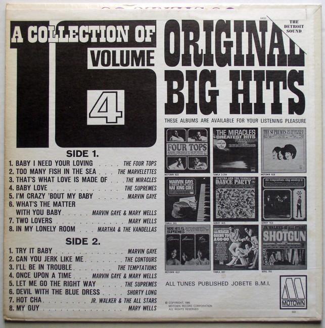 Various / A Collection Of 16 Original Big Hits Vol 4 2