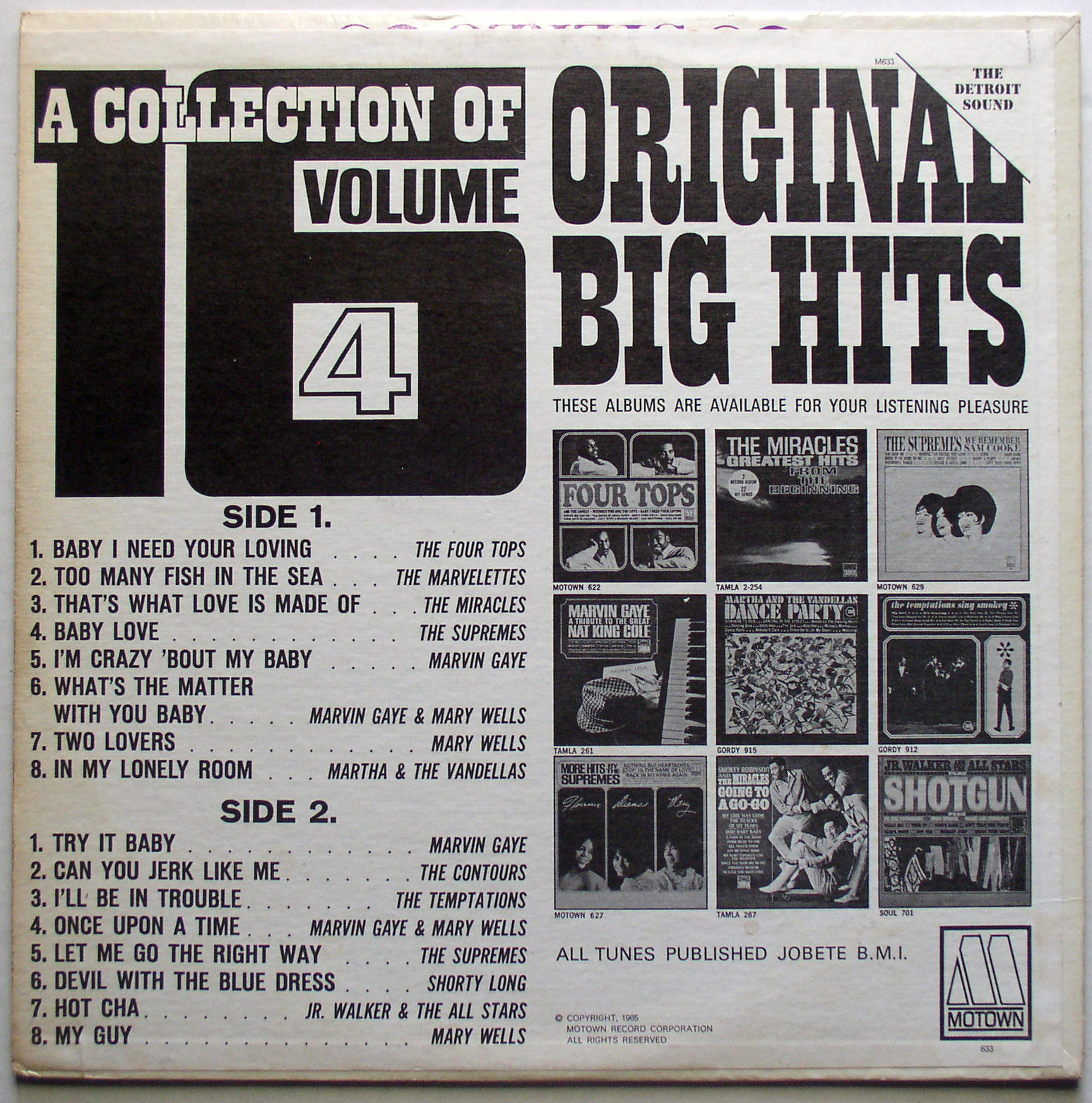 Various The Big Hits Of Mid America Volume Two
