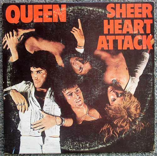 Queen / Sheer Heart Attack LP 1974