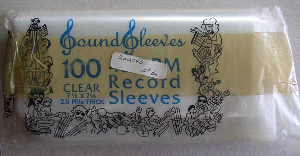 """Outer Sleeves 7"""" Records"""