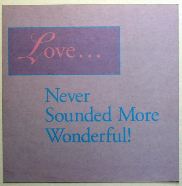 Diane Schuur / Love Songs flat back