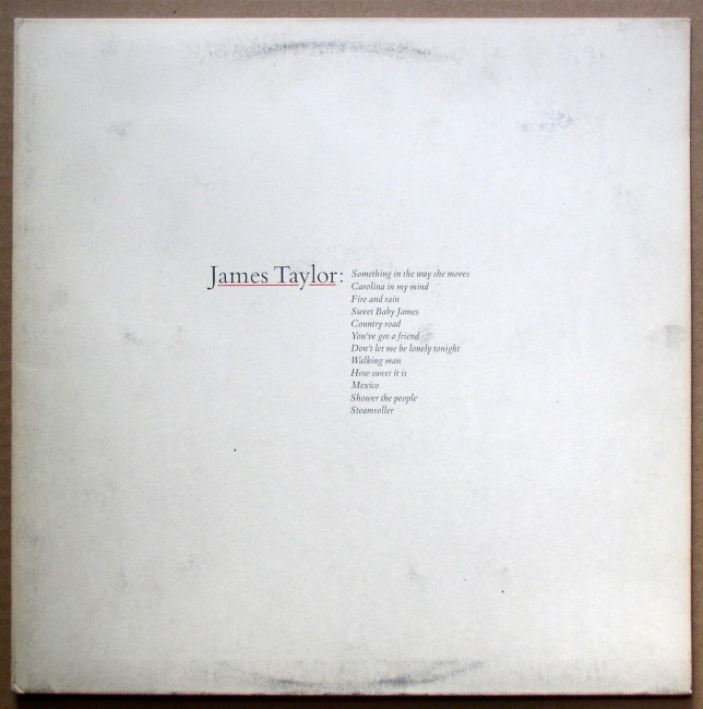 James Taylor / Greatest Hits 1976