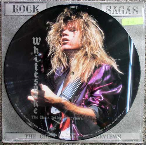 Whitesnake Picture Disc 2