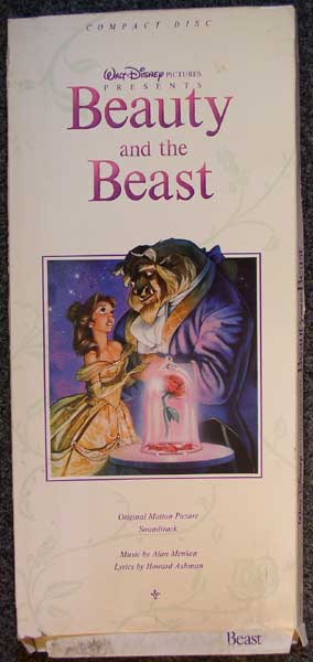 Beauty & The Beast longbox front