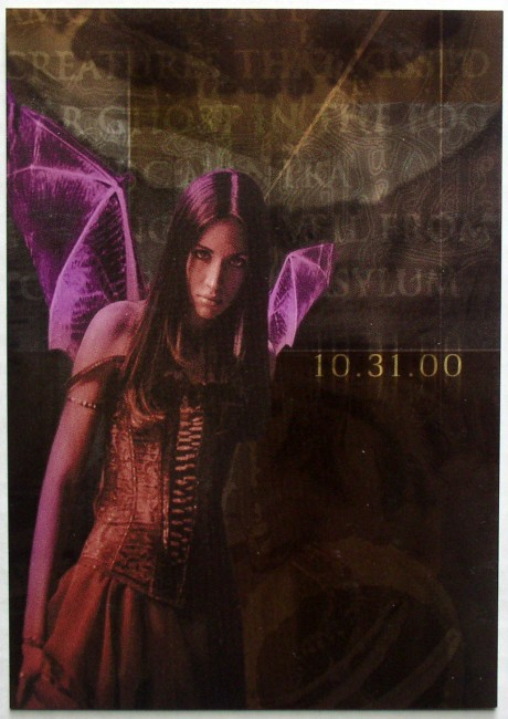 Cradle Of Filth / Midian promo postcard front