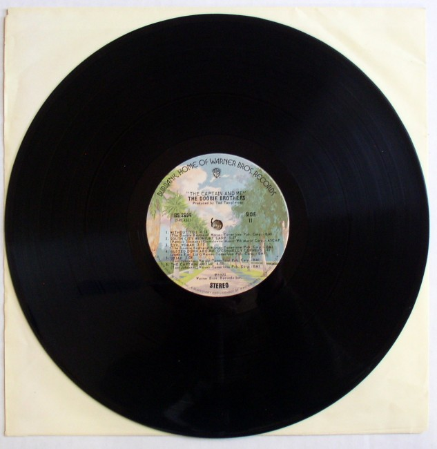 Doobie Brothers / The Captain And Me LP 5