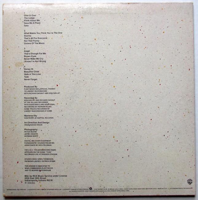 Fleetwood Mac / Tusk LP 2