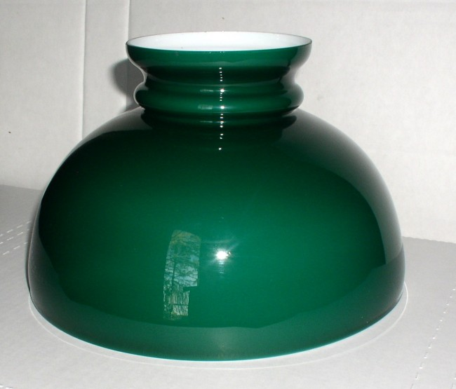 Green Cased Glass Shade 3