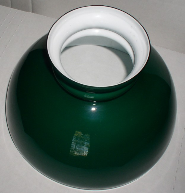 Green Cased Glass Shade 5