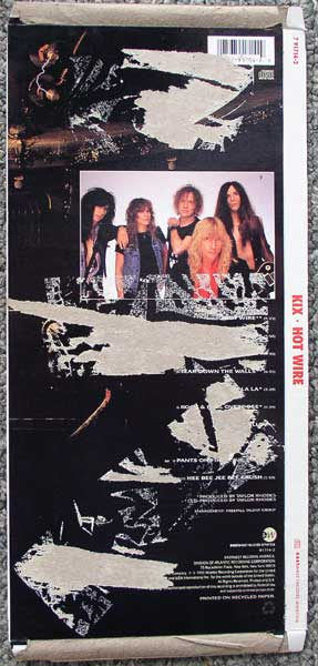 Kix / Hot Wire longbox back