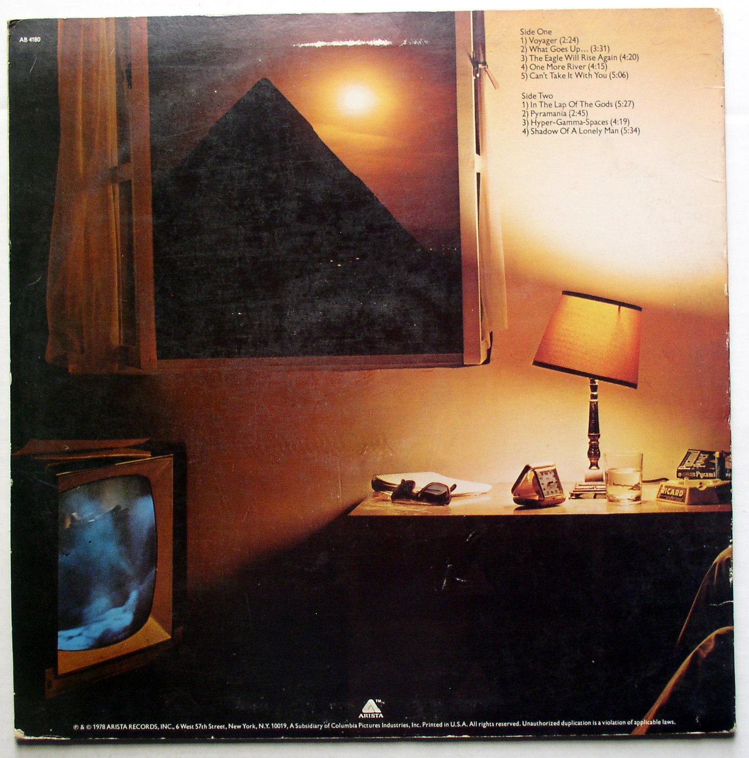 alan parsons project pyramid Pyramid: alan parsons: amazonca: music the alan parsons project's third album, 1978's pyramid, is a heavenly delight with a theme of mysticism.