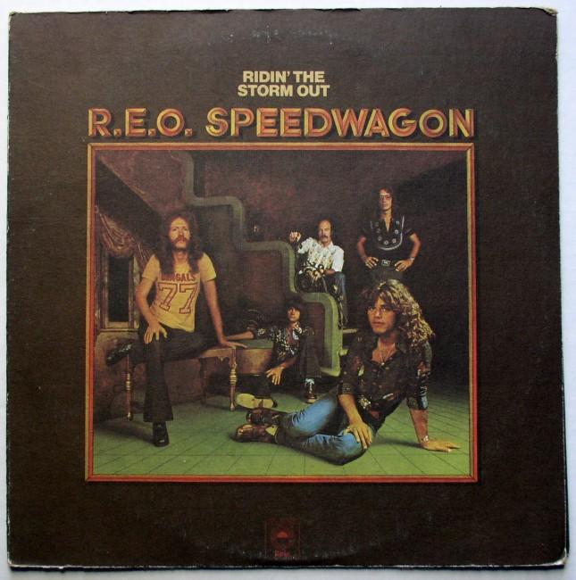 R.E.O. Speedwagon / Ridin' The Storm Out LP 1