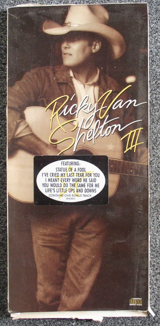 Van Shelton longbox front
