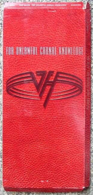 Van Halen longbox front
