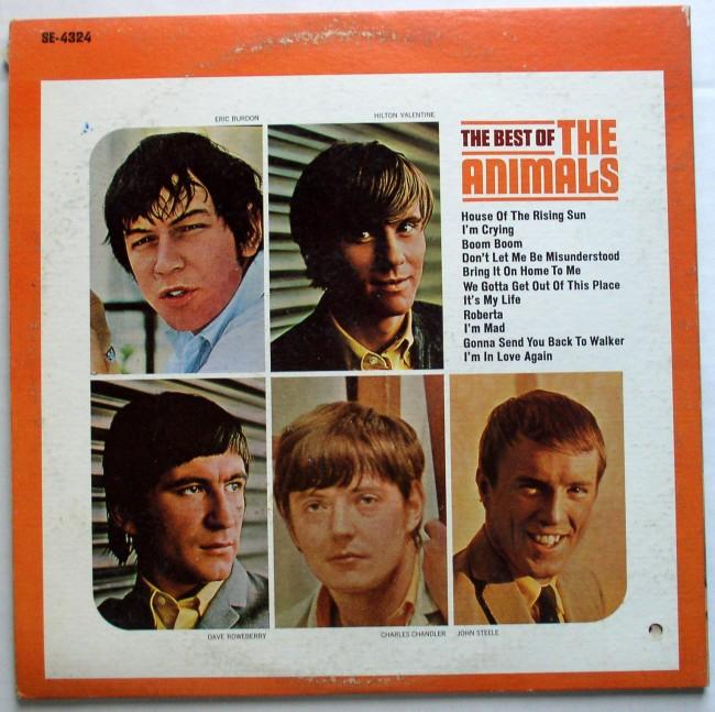 Animals / Best Of LP 1966 2