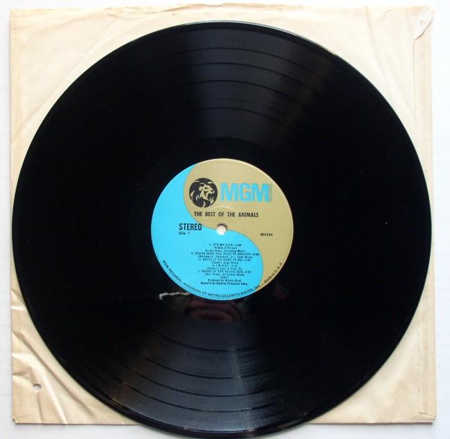 Animals / Best Of LP 1966 4