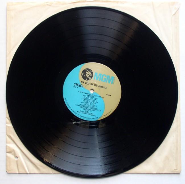 Animals / Best Of LP 1966 5