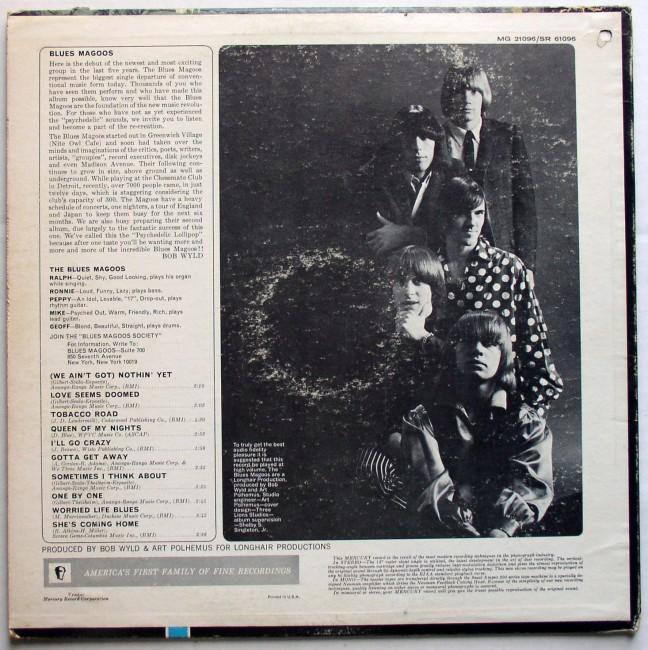 Blues Magoos / Psychedelic Lollipop LP 1966 2