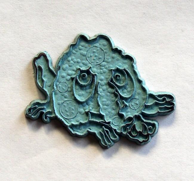 Freakies Snorkeldorf Rubber Magnet