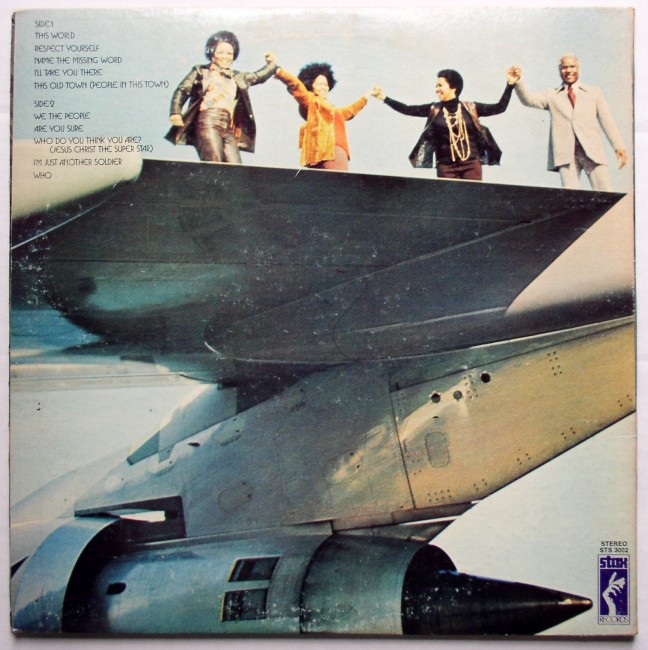 Staple Singers / Be Altitude LP 2