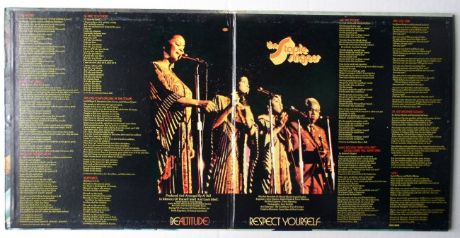 Staple Singers / Be Altitude LP 3