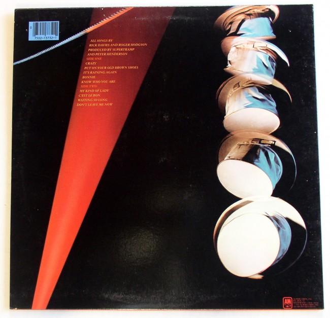 Supertramp / Famous Last Words LP 2