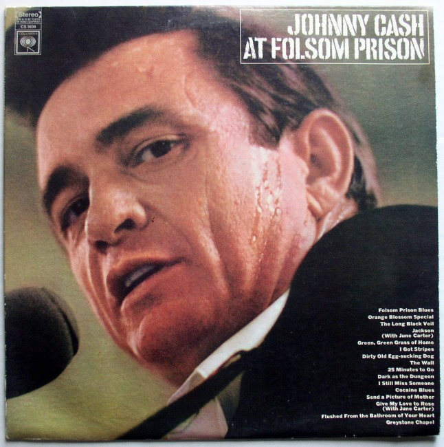 Johnny Cash / At Folsom Prison LP 1968 1
