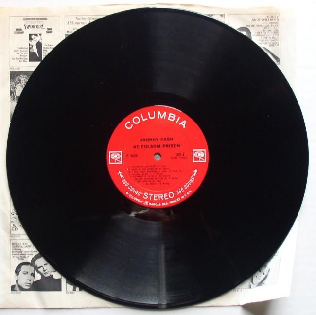 Johnny Cash / At Folsom Prison LP 1968 3