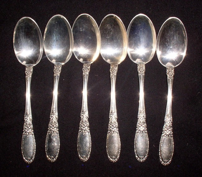 Old Mirror Teaspoons 1