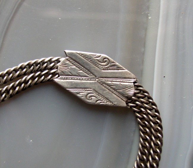 Sterling Double Chain 2