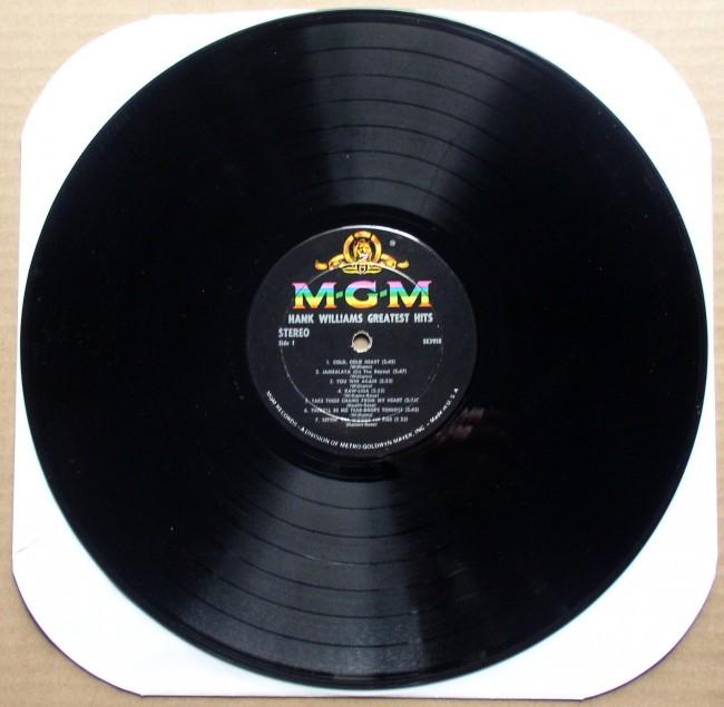 Hank Williams Greatest Hits LP 3