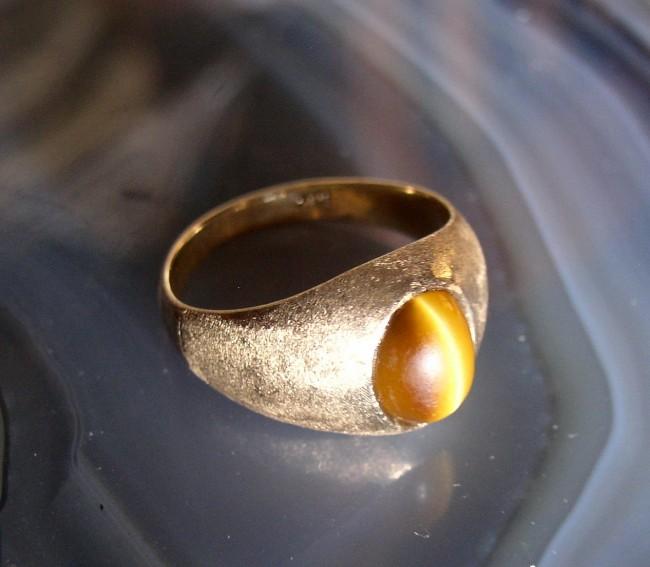 Tigers Eye Ring 1