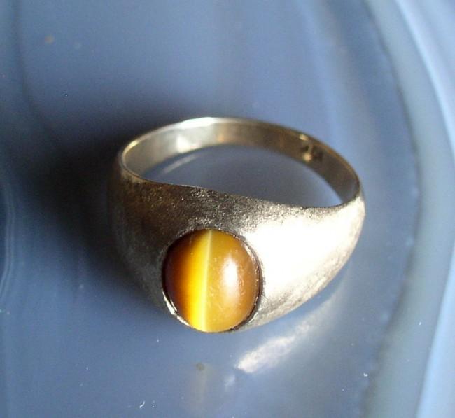 Tigers Eye Ring 2