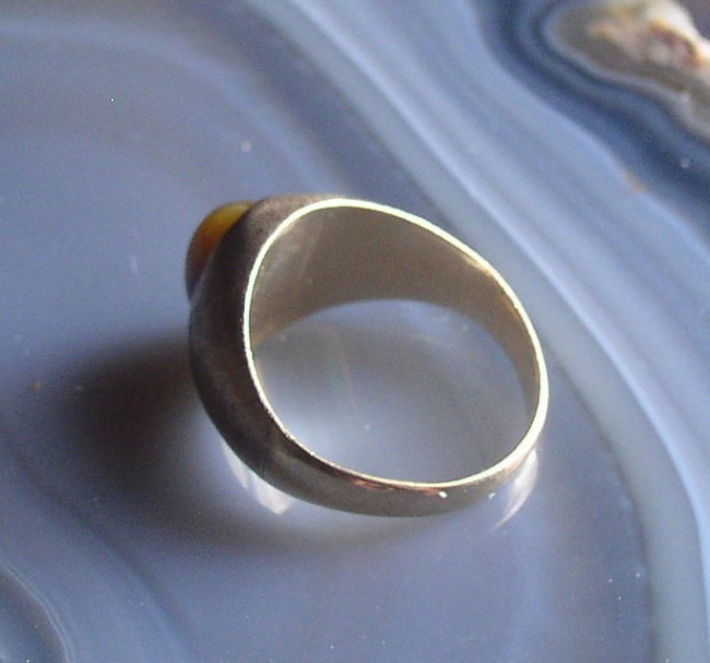 Tigers Eye Ring 7
