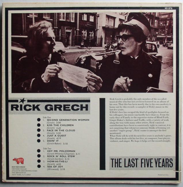 Rick Grech LP 2