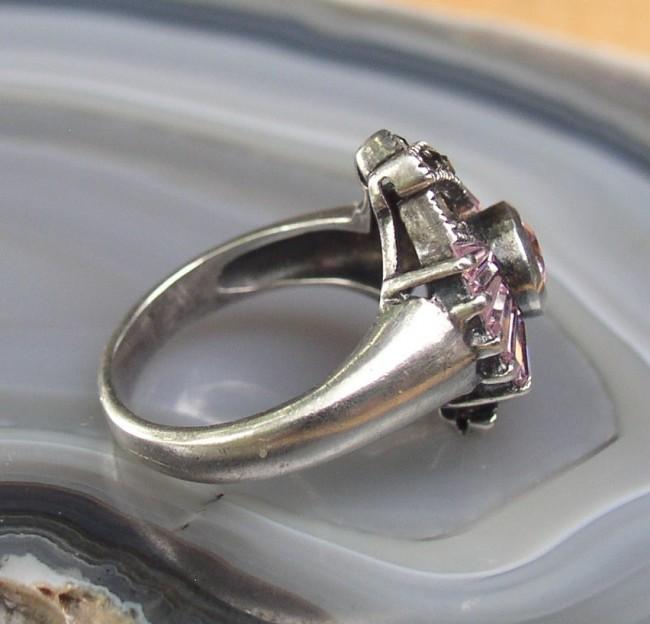 Tourmaline Marcasite Ring 4