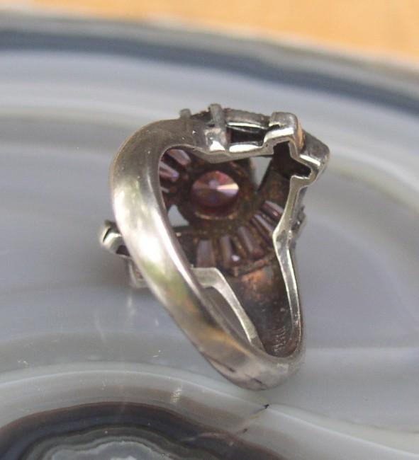 Tourmaline Marcasite Ring 5
