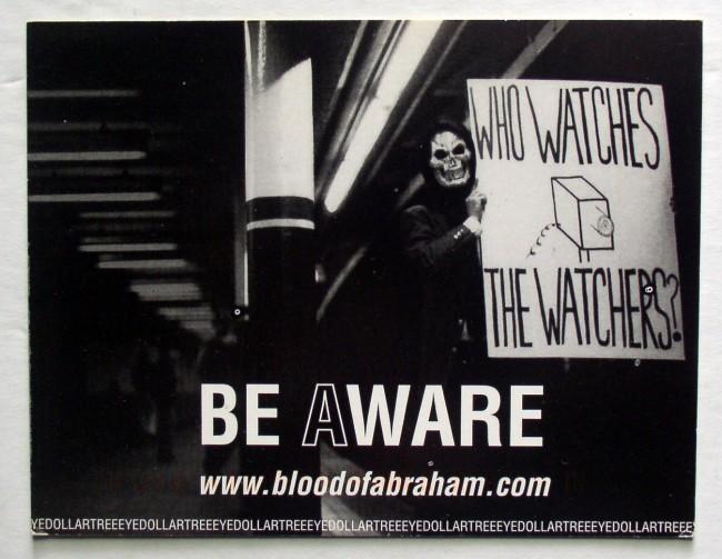 Blood Of Abraham Postcard 1