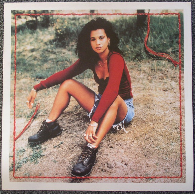 Neneh Cherry flat front