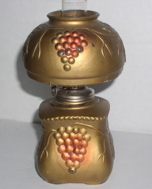 Goofus Decorated Lamp 3