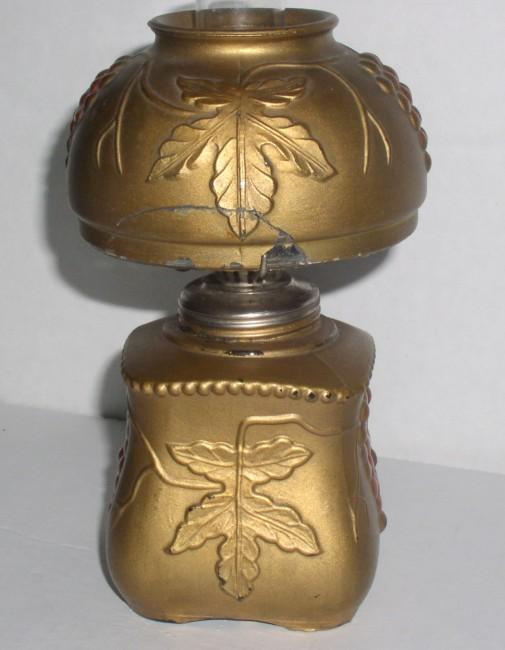 Goofus Decorated Lamp 4
