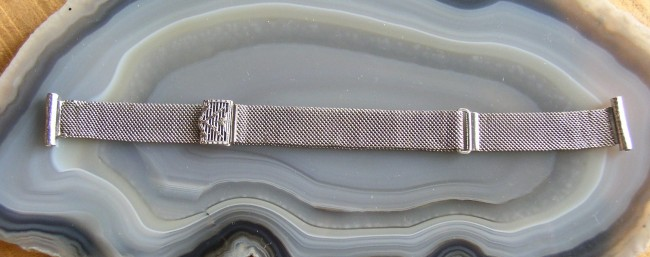 Hadley White Gold Filled Watch Band