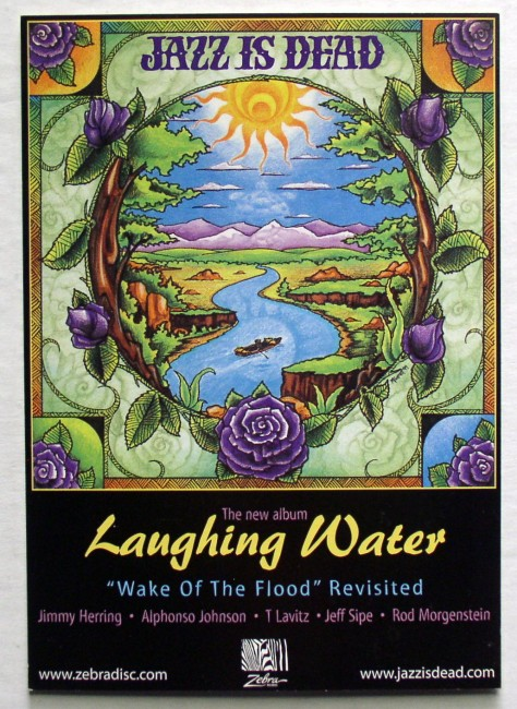 Jazz Is Dead Laughing Water Postcard 1
