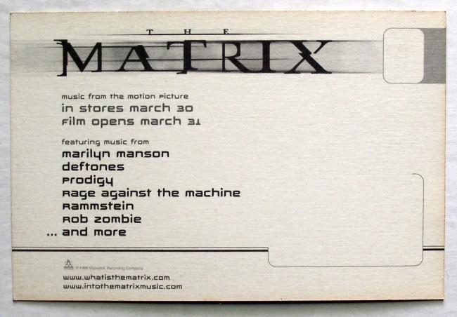Matrix Postcard 2