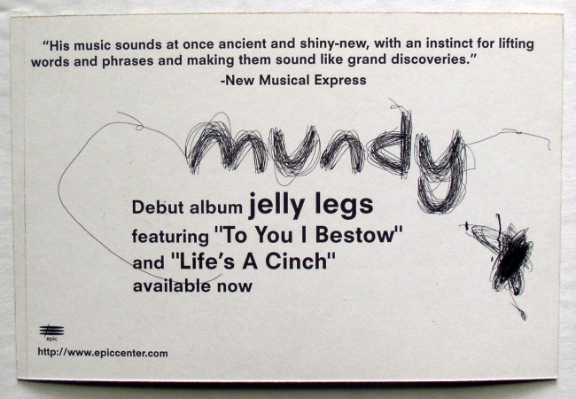 Mundy Postcard 2