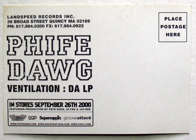 Phife Dawg Postcard 2