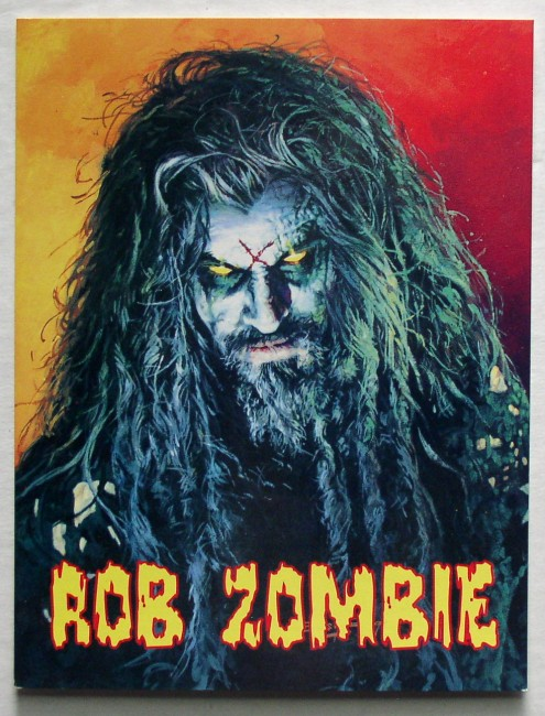 Rob Zombie Hellbilly Deluxe Postcard 1
